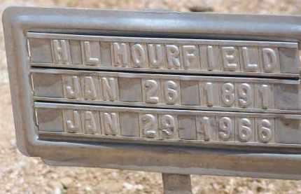 MOURFIELD, H L - Cochise County, Arizona | H L MOURFIELD - Arizona Gravestone Photos