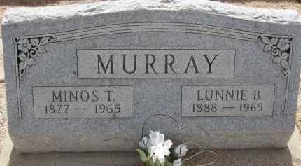 MURRAY, MINOS T. - Cochise County, Arizona   MINOS T. MURRAY - Arizona Gravestone Photos