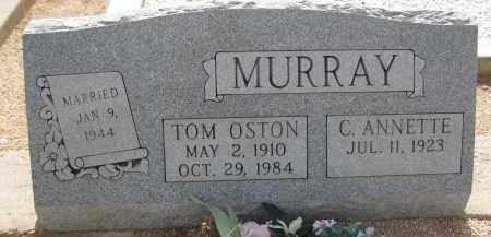 MURRAY, TOM OSTON - Cochise County, Arizona   TOM OSTON MURRAY - Arizona Gravestone Photos