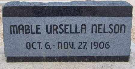 NELSON, MABLE URSELLA - Cochise County, Arizona | MABLE URSELLA NELSON - Arizona Gravestone Photos