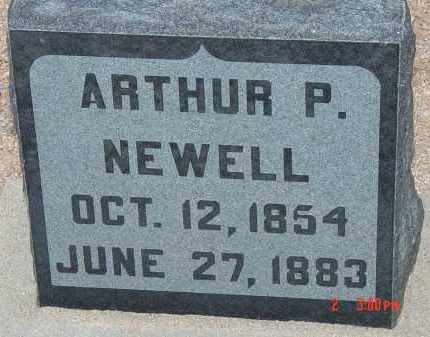 NEWELL, ARTHUR P. - Cochise County, Arizona | ARTHUR P. NEWELL - Arizona Gravestone Photos