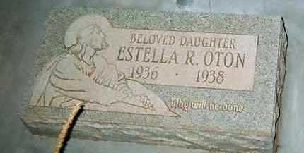 OTON, ESTELLA - Cochise County, Arizona | ESTELLA OTON - Arizona Gravestone Photos
