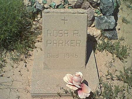 PARKER, ROSA - Cochise County, Arizona | ROSA PARKER - Arizona Gravestone Photos