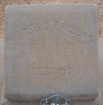 PHILLIPS, JAMES L. - Cochise County, Arizona | JAMES L. PHILLIPS - Arizona Gravestone Photos