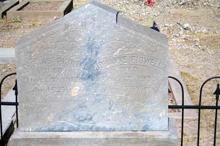 PIDWELL, THOMAS - Cochise County, Arizona | THOMAS PIDWELL - Arizona Gravestone Photos
