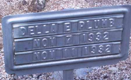 PLUMB, DELLA E - Cochise County, Arizona | DELLA E PLUMB - Arizona Gravestone Photos