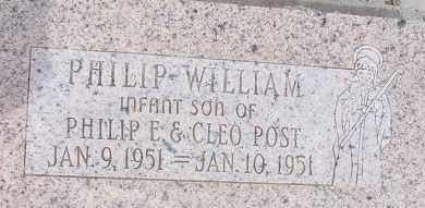 POST, PHILIP WILLIAM - Cochise County, Arizona | PHILIP WILLIAM POST - Arizona Gravestone Photos