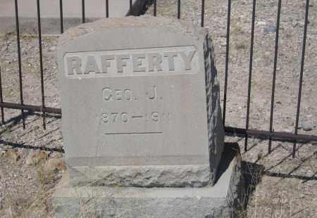 RAFFERTY, GEO J. - Cochise County, Arizona | GEO J. RAFFERTY - Arizona Gravestone Photos