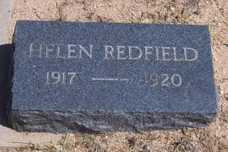 REDFIELD, HELEN - Cochise County, Arizona | HELEN REDFIELD - Arizona Gravestone Photos