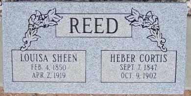 REED, LOUISA SHEEN - Cochise County, Arizona | LOUISA SHEEN REED - Arizona Gravestone Photos