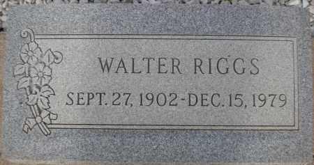 RIGGS, WALTER - Cochise County, Arizona | WALTER RIGGS - Arizona Gravestone Photos