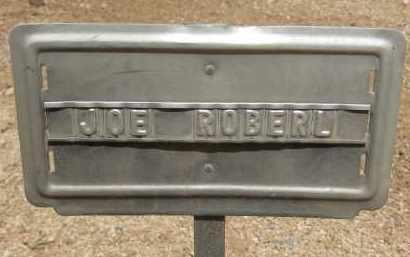 ROBERL, JOE - Cochise County, Arizona | JOE ROBERL - Arizona Gravestone Photos