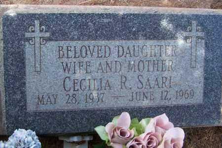 SAARI, CECILIA - Cochise County, Arizona | CECILIA SAARI - Arizona Gravestone Photos