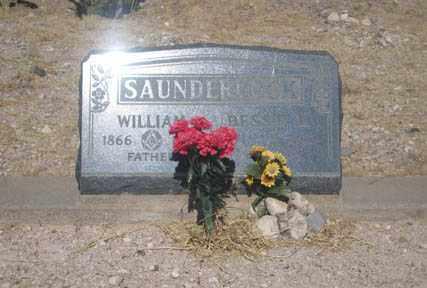 SAUNDERCOCK, WILLIAM - Cochise County, Arizona | WILLIAM SAUNDERCOCK - Arizona Gravestone Photos