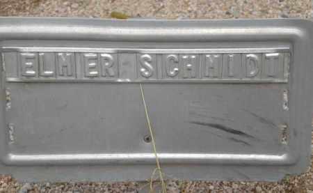 SCHMIDT, ELMER - Cochise County, Arizona   ELMER SCHMIDT - Arizona Gravestone Photos