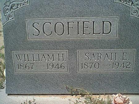SCOFIELD, SARAH E. - Cochise County, Arizona | SARAH E. SCOFIELD - Arizona Gravestone Photos