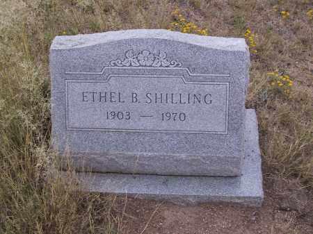 SHILLING, ETHEL B. - Cochise County, Arizona   ETHEL B. SHILLING - Arizona Gravestone Photos