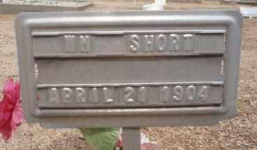 SHORT, WM - Cochise County, Arizona | WM SHORT - Arizona Gravestone Photos