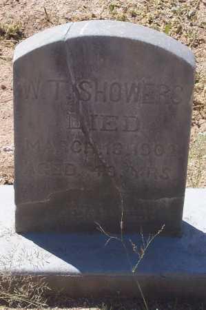 SHOWERS, W. S. - Cochise County, Arizona   W. S. SHOWERS - Arizona Gravestone Photos