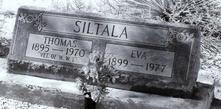 SILTALA, EVA - Cochise County, Arizona | EVA SILTALA - Arizona Gravestone Photos