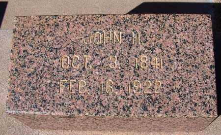 SLAUGHTER, JOHN HORTON - Cochise County, Arizona | JOHN HORTON SLAUGHTER - Arizona Gravestone Photos