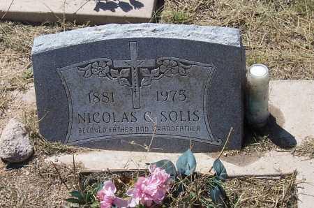 SOLIS, NICOLAS C. - Cochise County, Arizona   NICOLAS C. SOLIS - Arizona Gravestone Photos