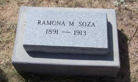SOZA, RAMONA M. - Cochise County, Arizona | RAMONA M. SOZA - Arizona Gravestone Photos