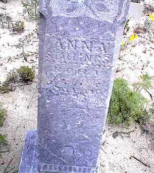 STALLINGS, ANNA - Cochise County, Arizona | ANNA STALLINGS - Arizona Gravestone Photos
