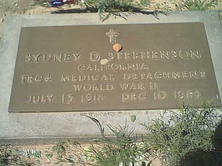 STEPHENSON, SYDNEY D. - Cochise County, Arizona | SYDNEY D. STEPHENSON - Arizona Gravestone Photos
