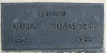 SUMMERS, CUMA - Cochise County, Arizona | CUMA SUMMERS - Arizona Gravestone Photos
