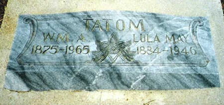 TATOM, LULA - Cochise County, Arizona | LULA TATOM - Arizona Gravestone Photos