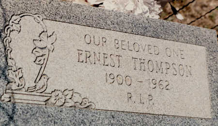 THOMPSON, ERNEST - Cochise County, Arizona | ERNEST THOMPSON - Arizona Gravestone Photos