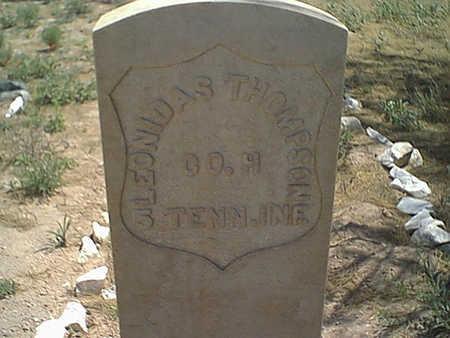 THOMPSON, LEONIDAS - Cochise County, Arizona | LEONIDAS THOMPSON - Arizona Gravestone Photos