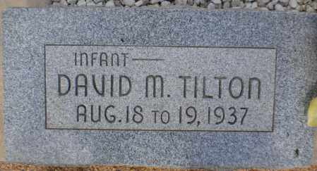 TILTON, DAVID M. - Cochise County, Arizona | DAVID M. TILTON - Arizona Gravestone Photos