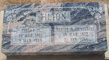 TILTON, ELBERT H. - Cochise County, Arizona | ELBERT H. TILTON - Arizona Gravestone Photos