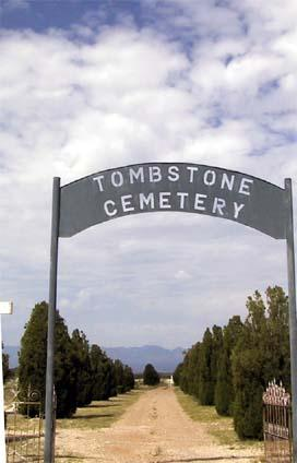 TOMBSTONE, CEMETERY - Cochise County, Arizona | CEMETERY TOMBSTONE - Arizona Gravestone Photos