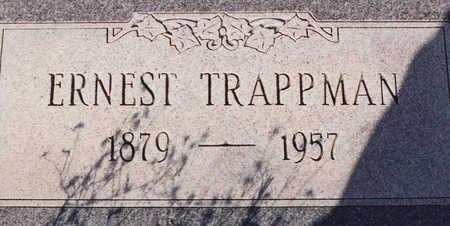 TRAPPMAN, ERNEST - Cochise County, Arizona   ERNEST TRAPPMAN - Arizona Gravestone Photos