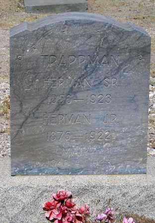TRAPPMAN, HERMAN SR. - Cochise County, Arizona   HERMAN SR. TRAPPMAN - Arizona Gravestone Photos