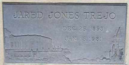TREJO, JARED JONES - Cochise County, Arizona | JARED JONES TREJO - Arizona Gravestone Photos