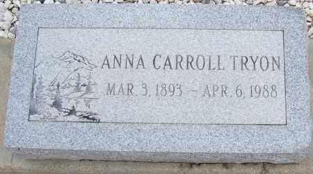 TRYON, ANNA CARROLL - Cochise County, Arizona | ANNA CARROLL TRYON - Arizona Gravestone Photos