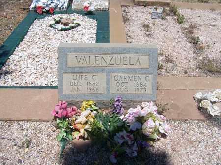 VALENZUELA, CARMEN - Cochise County, Arizona   CARMEN VALENZUELA - Arizona Gravestone Photos