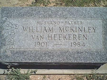 VAN HEEKEREN, WILLIAM M. - Cochise County, Arizona | WILLIAM M. VAN HEEKEREN - Arizona Gravestone Photos