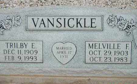 VANSICKLE, MELVILLE F. - Cochise County, Arizona | MELVILLE F. VANSICKLE - Arizona Gravestone Photos