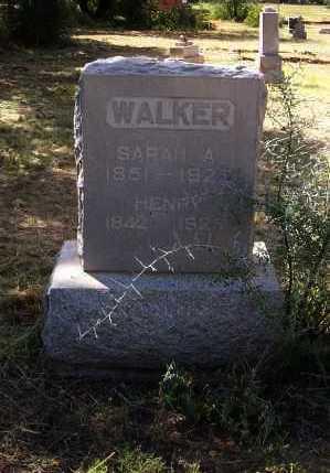 WALKER, HENRY - Cochise County, Arizona | HENRY WALKER - Arizona Gravestone Photos