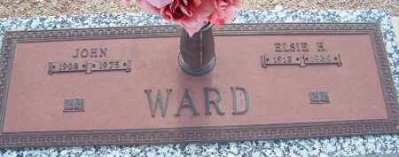 WARD, ELSIE H. - Cochise County, Arizona | ELSIE H. WARD - Arizona Gravestone Photos