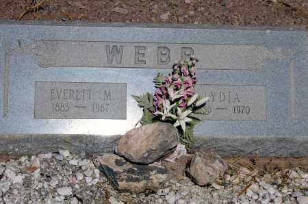 WEBB, EVERETT - Cochise County, Arizona | EVERETT WEBB - Arizona Gravestone Photos