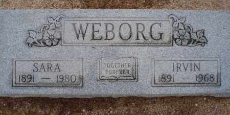 WEBORG, IRVIN - Cochise County, Arizona | IRVIN WEBORG - Arizona Gravestone Photos