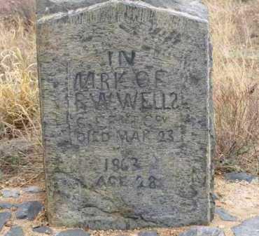 WELLS, R. W. - Cochise County, Arizona   R. W. WELLS - Arizona Gravestone Photos
