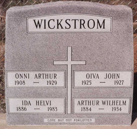 WICKSTROM, OIVA JOHN - Cochise County, Arizona | OIVA JOHN WICKSTROM - Arizona Gravestone Photos