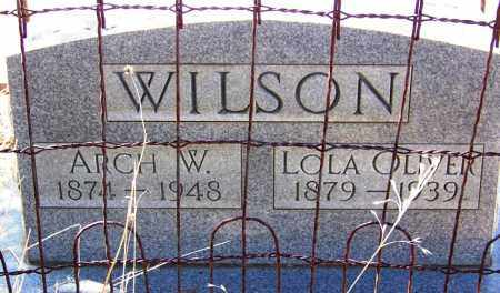 WILSON, LOLA - Cochise County, Arizona | LOLA WILSON - Arizona Gravestone Photos